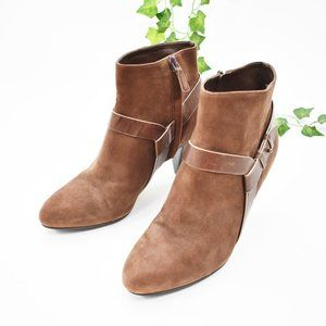 Cole Haan suede leather brown boots 8